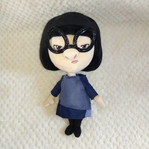 "DISNEY STORE 12.5"" PLUSH EDNA MODE"